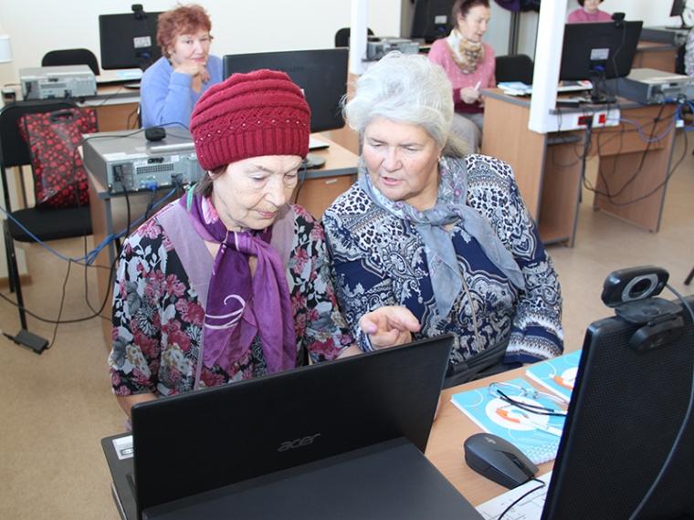 Компьютеру все возрасты покорны. Азбука Интернета