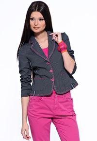 Базовая выкройки пиджака полуприлегающего силуэта