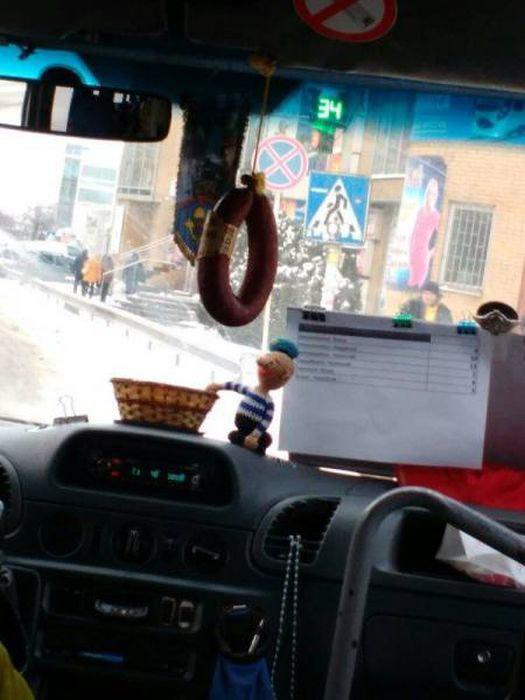 Освежитель воздуха «Колбасонька». | Фото: NovostiUA.org.