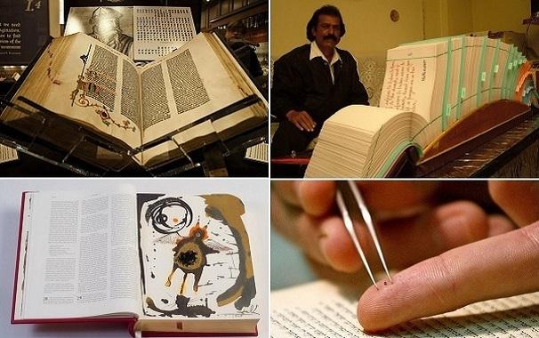 7 самых необычных изданий Библии