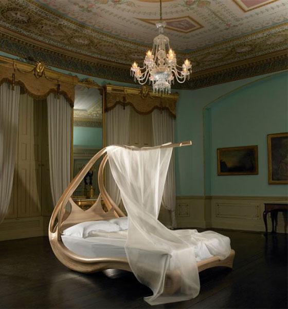 14 самых удивительных кроватей!