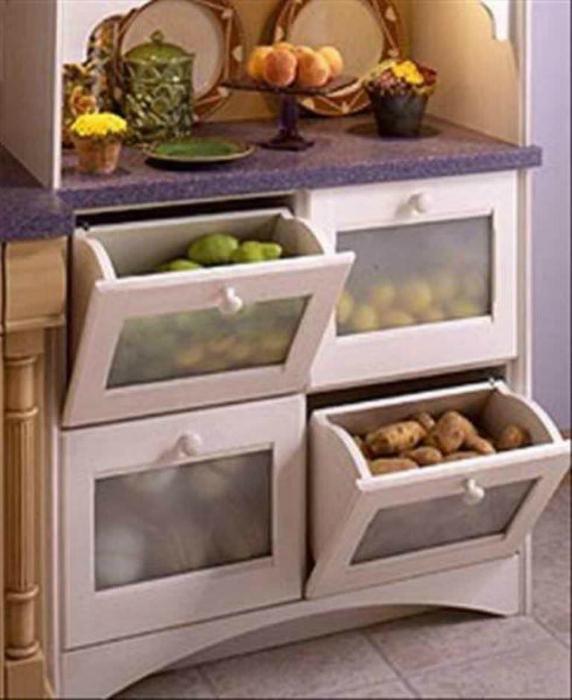 Хранение овощей.