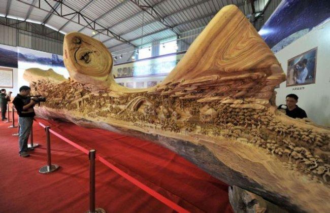 Восхитительная скульптура Чжэна Чунхуи