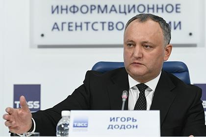 Додон рассказал подробности подготовки «желтого Майдана» в Молдавии