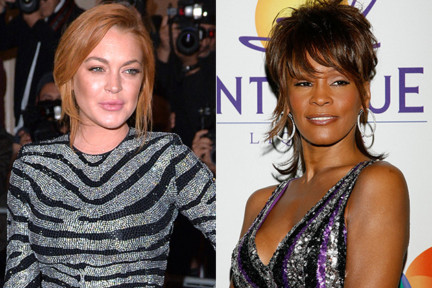 Lindsay Lohan Says She Handled Whitney Houston's Body Bag