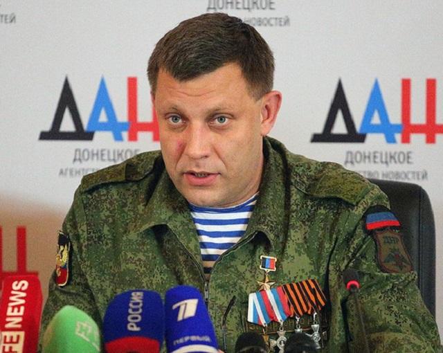 Резкий ответ Захарченко представителю ОБСЕ сорвал аплодисменты