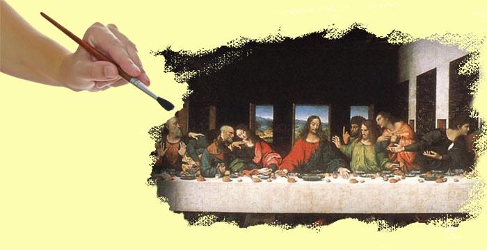 Притча о добре и зле: «Легенда фрески да Винчи»