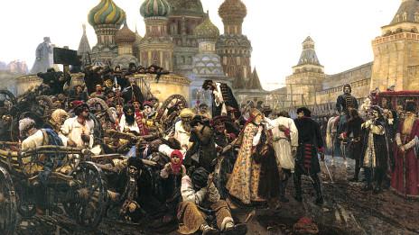 """""""Утро стрелецкой казни"""" (Василий Суриков)"""