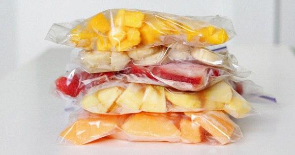 Продли лето — замораживай фрукты правильно! Без этого лайфхака точно не обойтись…
