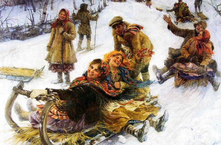 История происхождения «зимних» слов