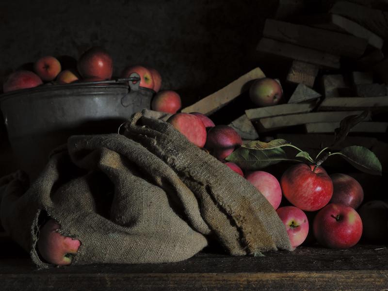 Тещины яблоки или месть должна подаваться с огорода