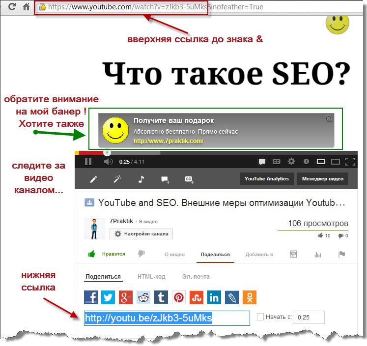 Youtube Seo   Внешние меры продвижение видео #СЕРИЯ ВИДЕО