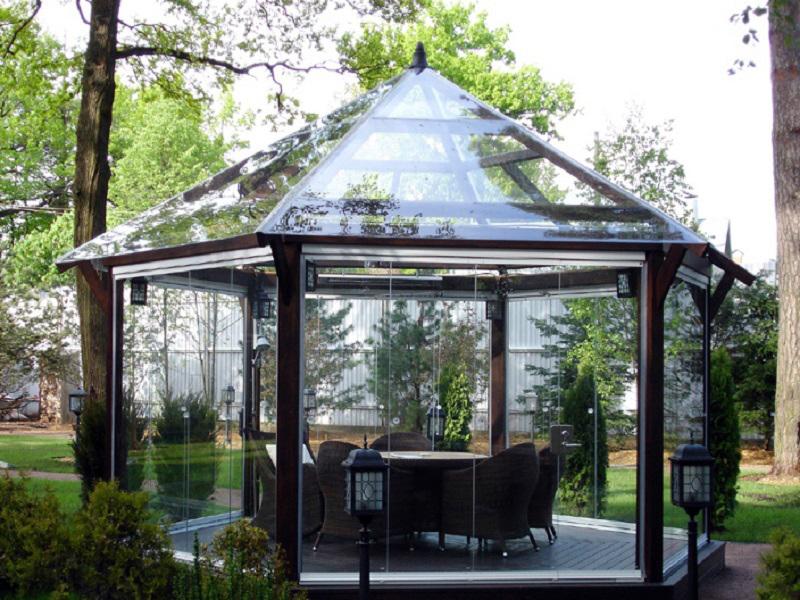 15 прекрасных идей для строительства беседки в загородном доме или на даче. Наверняка о такой мечтал каждый