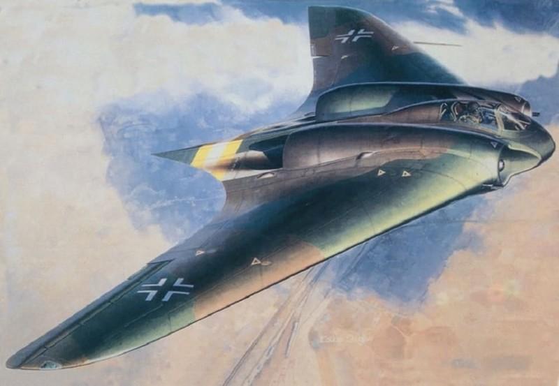 Хортен Ho 229 Вундерваффе, Чудо техника, военная техника Германии, вторая мировая война