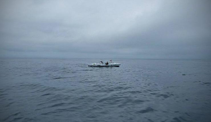 важно не размер лодки а волнение океана