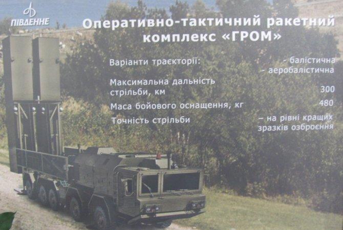 """Украинские инженеры попытались сделать аналог """"Искандера"""""""