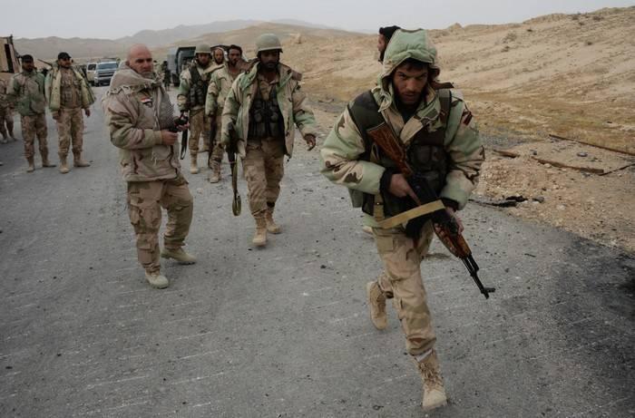 SANA: сирийские войска очистили от террористов город Эль-Карьятейн