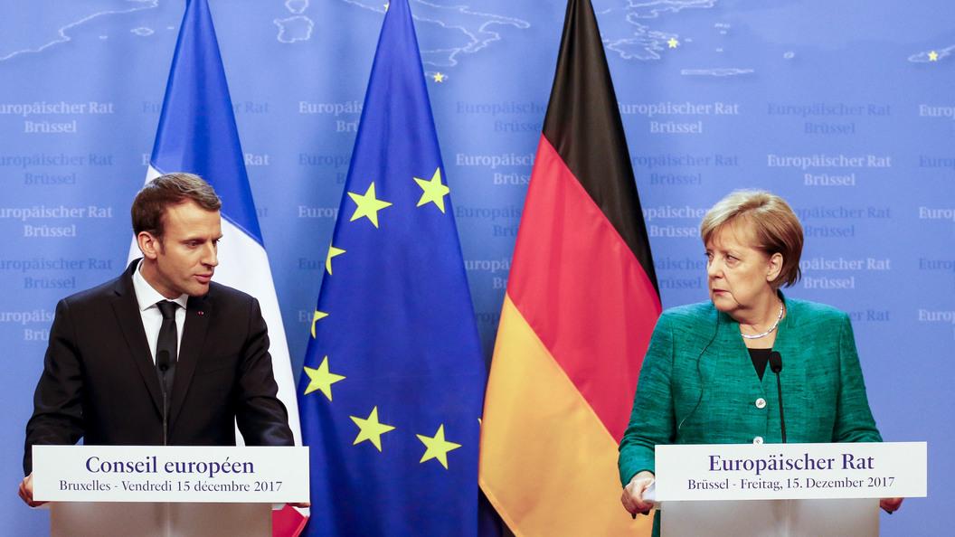 Хакнули прямо в аккаунт: Немцы в мультфильме выставили на посмешище Меркель и Макрона