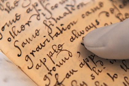 Во Франции обнаружили редкий экземпляр книги Исаака Ньютона