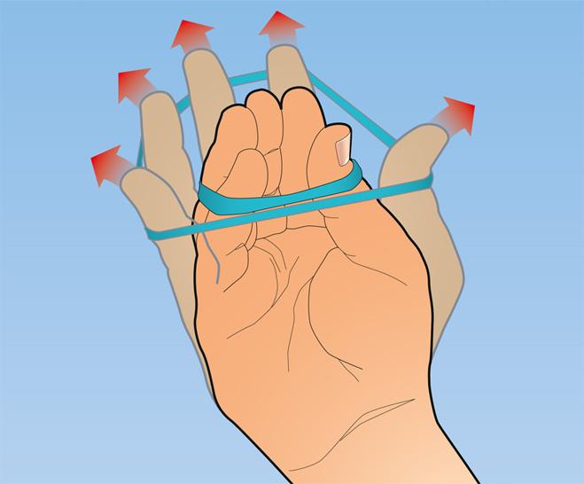 Как растянуть палец в домашних условиях