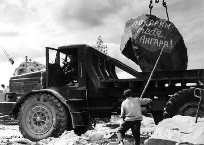 Покорение Ангары, конец 60 годов, Усть–Илимск, Иркутская область было, история, фото