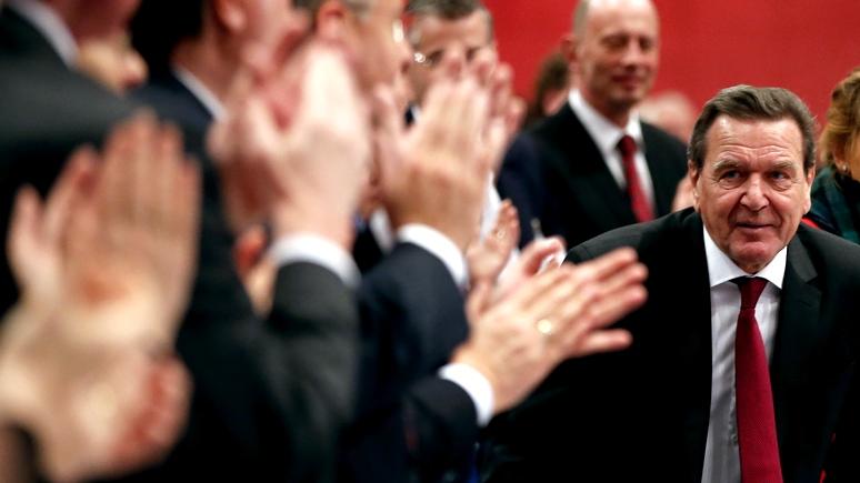 Шрёдер: Был бы ЕС «немного умнее» – до санкций дело бы не дошло