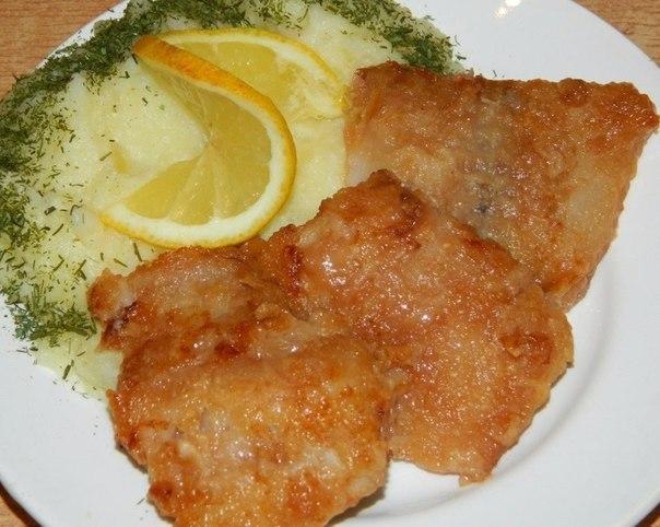 Ароматная рыбка — самый любимый рецепт. Хрустящая и очень вкусная!