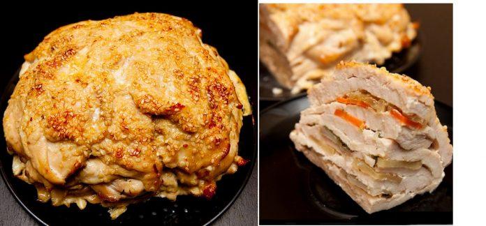 Шикарное блюдо для праздничного стола: Сочное и вкусное куриное филе «Удиви соседку»