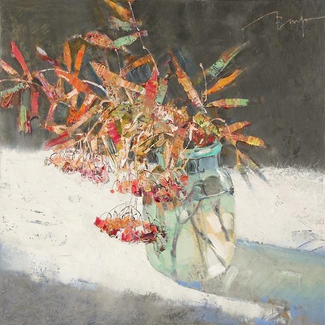 Это как будто вас погладила бабочка...изумительно нежные натюрморты Вероники Лобаревой