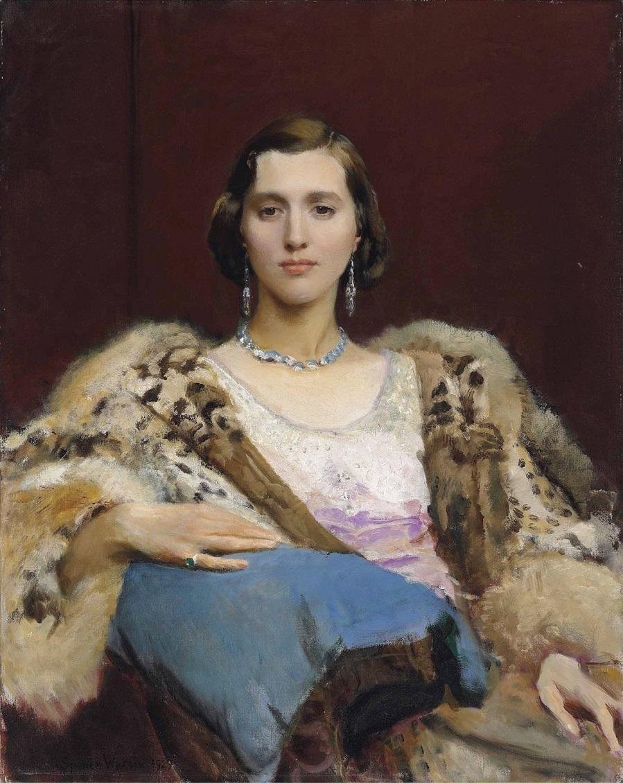 Джордж Спенсер Уотсон (British, 1869–1934) и его картины