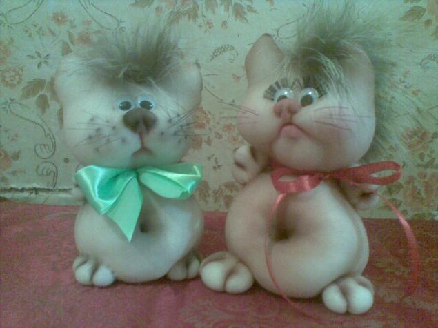 Куклы своими руками кошка из колготок