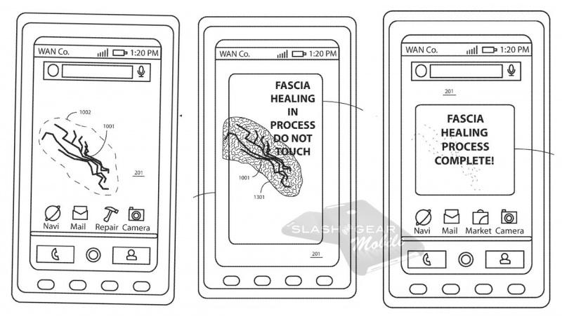 Motorola запатентовала самовосстанавливающееся стекло для смартфонов