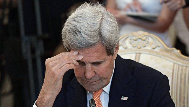 Керри признал, что США так и не смогли добиться успеха по Сирии