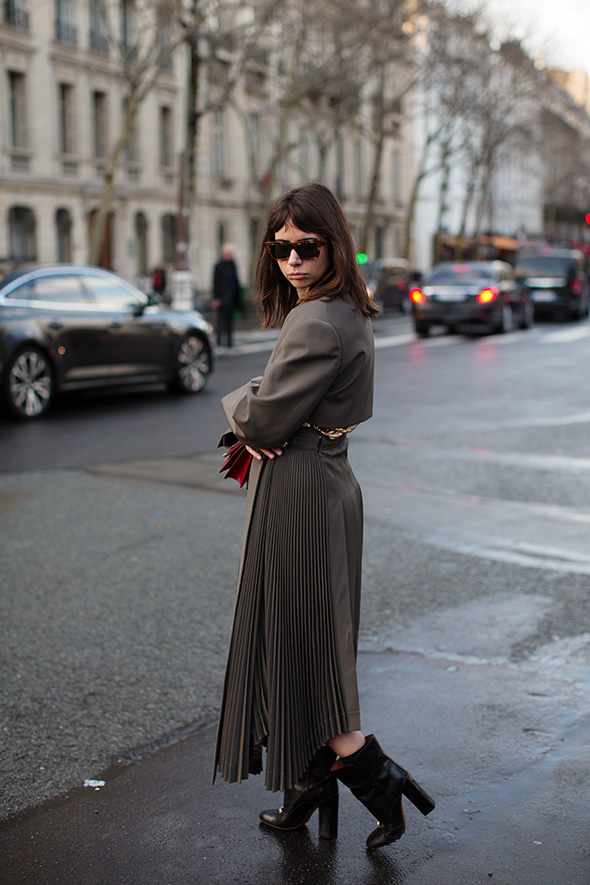 On the Street….Natasha, Paris