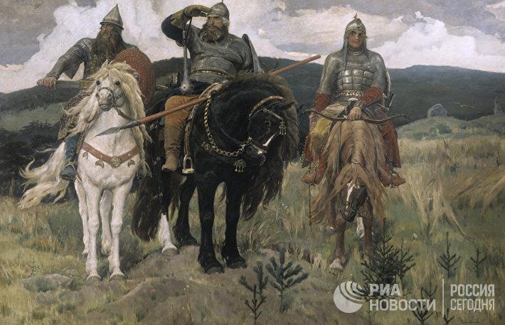 Украина признала богатырей и…