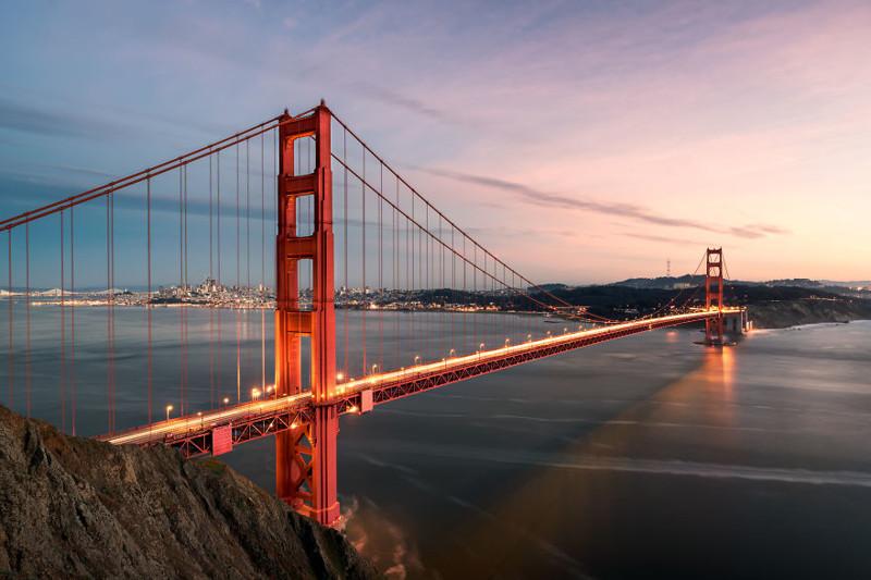Золотые Ворота, Сан-Франциско  Северная Америка, путешествие, фотография
