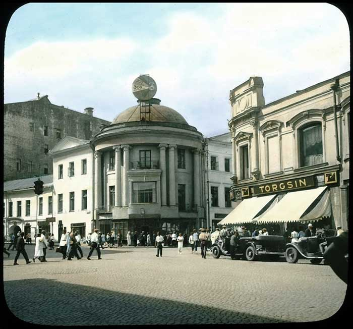 Москва 20-30 х годов прошлого века, запечатленная в цветных фото Брэнсоном Деку (Branson DeCou).