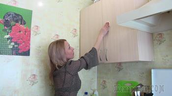 Как легко очистить кухонную мебель от жирного налета