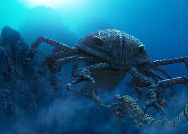 До динозавров на Земле жили сверхгигантские скорпионы