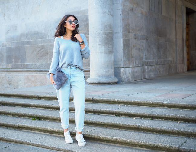 Ультрамодные джинсы mom – жаркий тренд весны-лета 2017