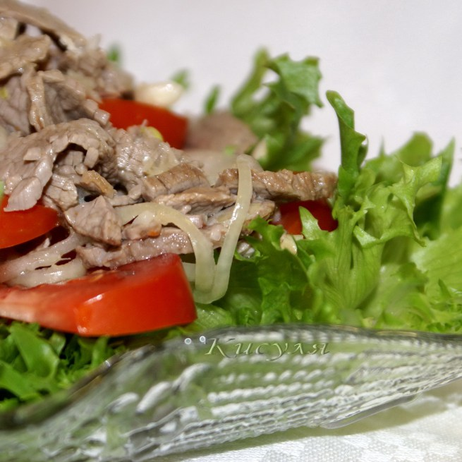 """Салат """"ShabuShabu"""" — знаменитое японское блюдо!"""