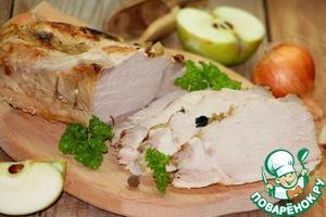 Брассированная свинина на горячее или бутерброд Масло растительное