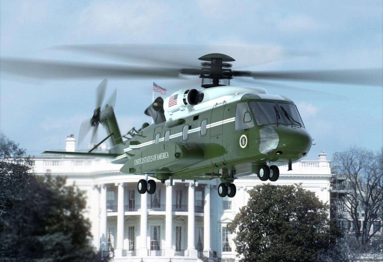 Первый полет первого прототипа нового вертолета Sikorsky VH-92A для президента США