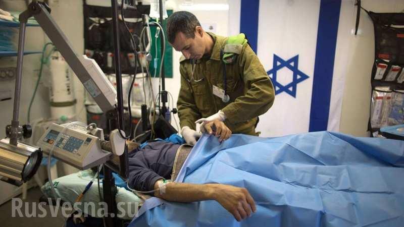 Израиль потратил 17 миллионов долларов на лечение сирийских боевиков