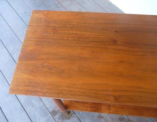 Как быстро и просто избавиться от царапин на деревянной мебели