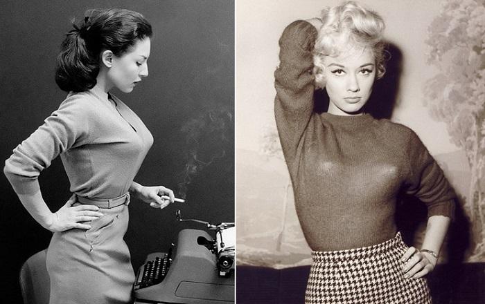 Бюстгальтер-«пуля»: популярный элемент нижнего белья 1940-50-х гг., заставлявший мужские сердца биться чаще