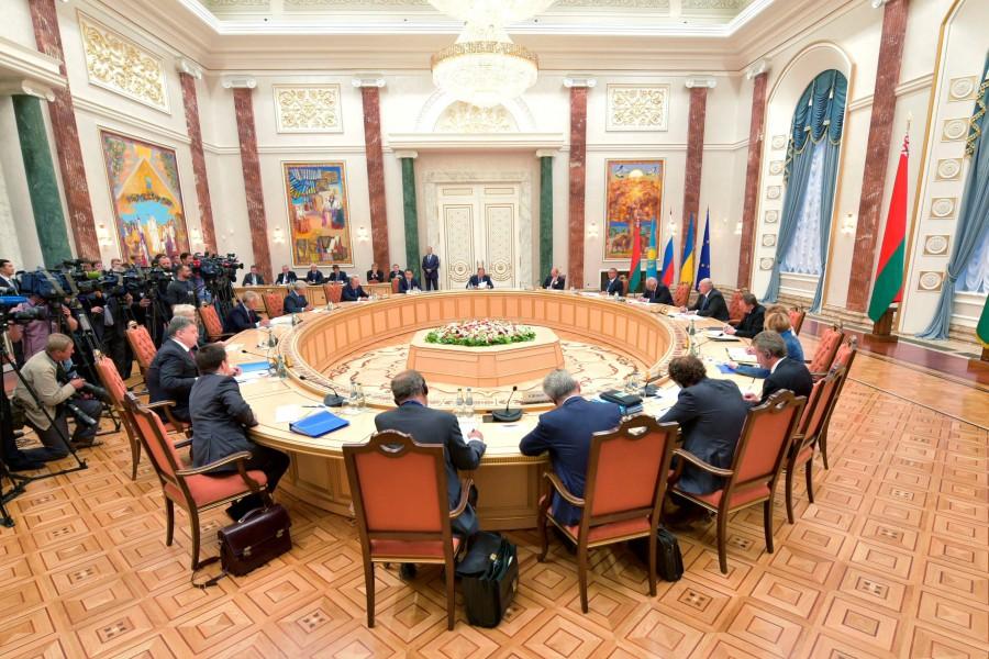 В Минске завершилась встреча Контактной группы по Донбассу