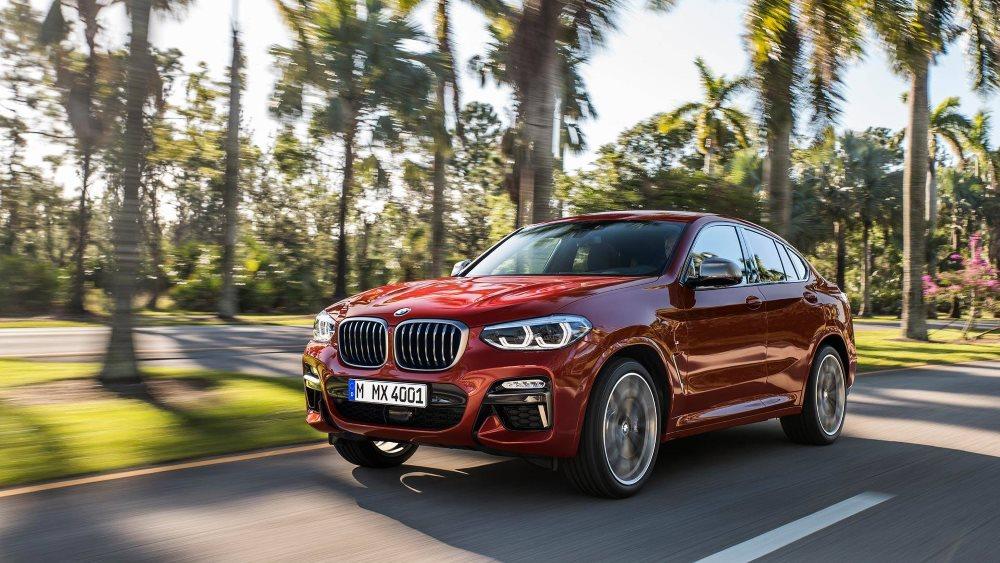 Дебют BMW X4 2018 в новом кузове уже состоялся