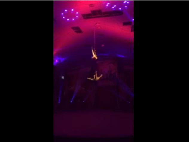 Акробат цирка Запашного разбился на представлении в Элисте