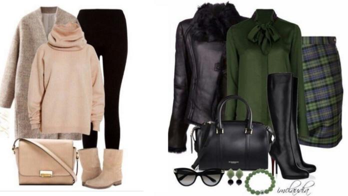 10 идей для модного осенне-зимнего образа